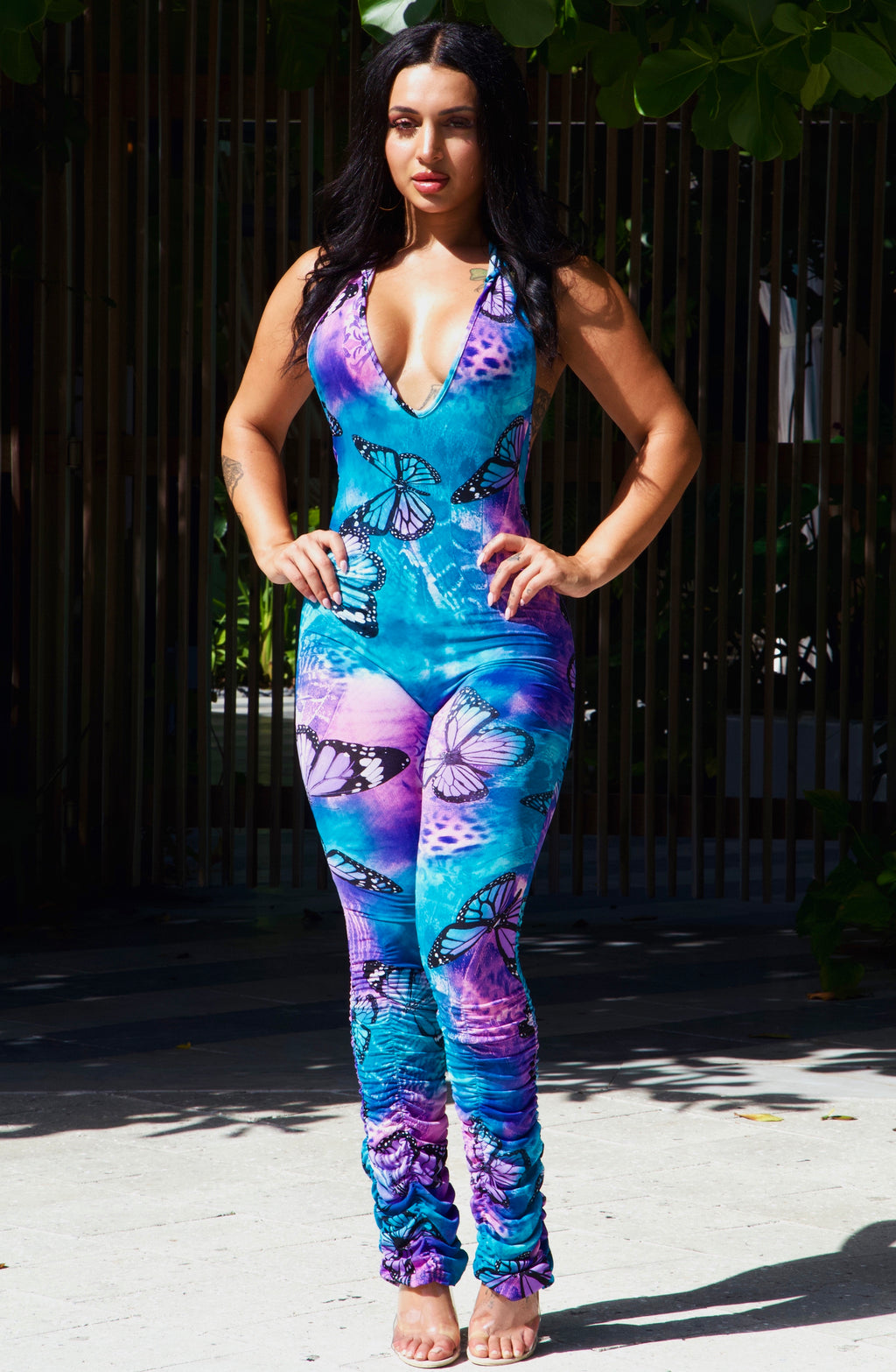 MY TYPE JUMPSUIT WITH MASK-JUMPSUITS-Twerkish Boutique