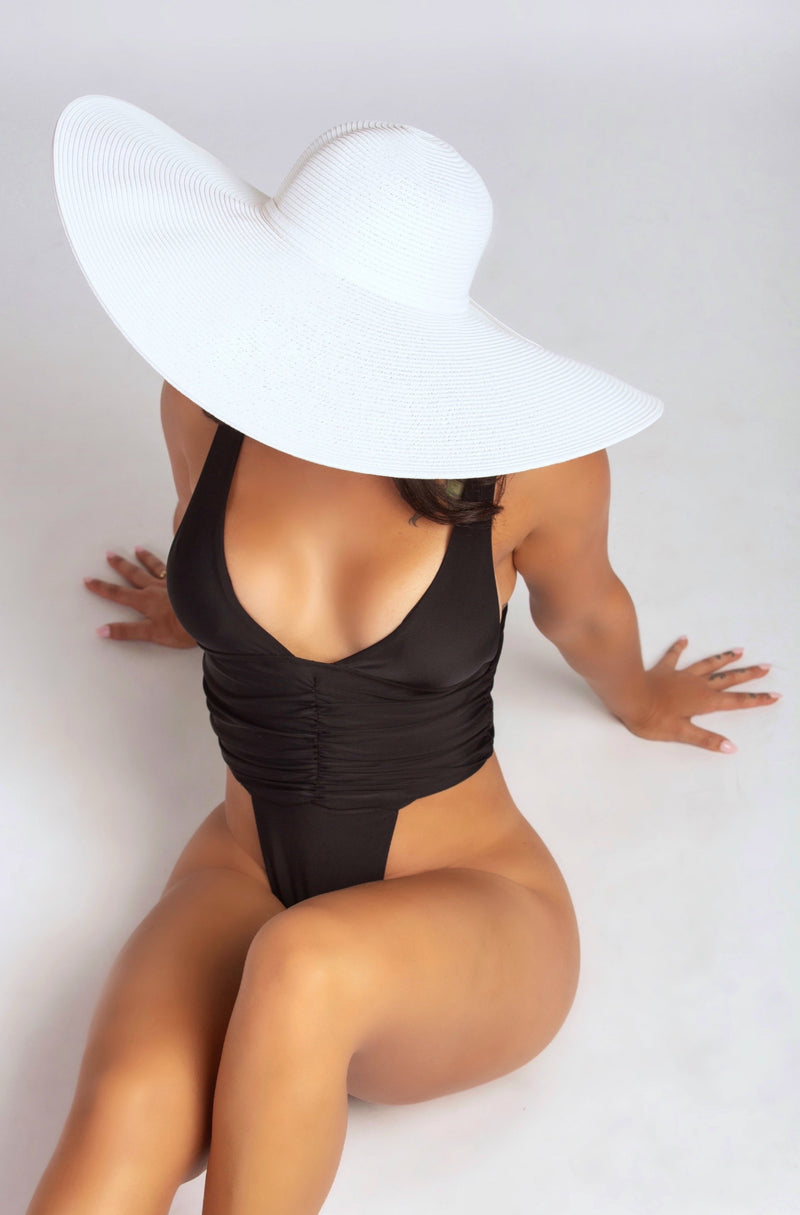 TAKE ME TO TULUM HAT IN WHITE-ACCESSORIES-Twerkish Boutique