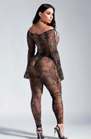 WILD DREAM JUMPSUIT-JUMPSUITS-Twerkish Boutique