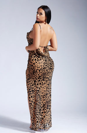 FEETA CHEETA DRESS-DRESSES-Twerkish Boutique