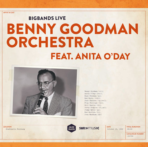 Benny Goodman Orchestra with Anita O'Day 2-LP Set