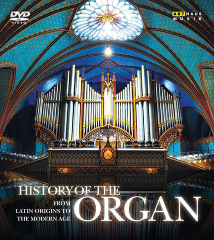 History of the Organ 4-DVD Set