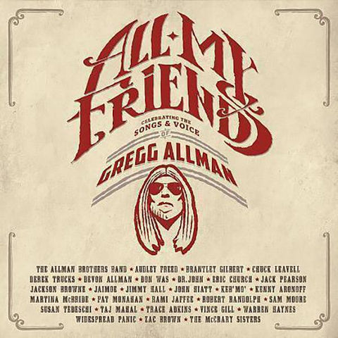 Gregg Allman: All My Friends 2CD