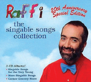 Raffi: The Singable Songs Collection 3-CD set