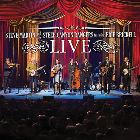 Steve Martin, The Steep Canyon Rangers, Edie Brickell CD/DVD