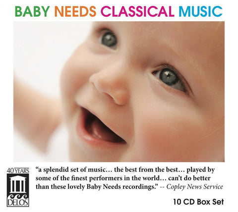Baby Needs Classical Music Box Set CD10
