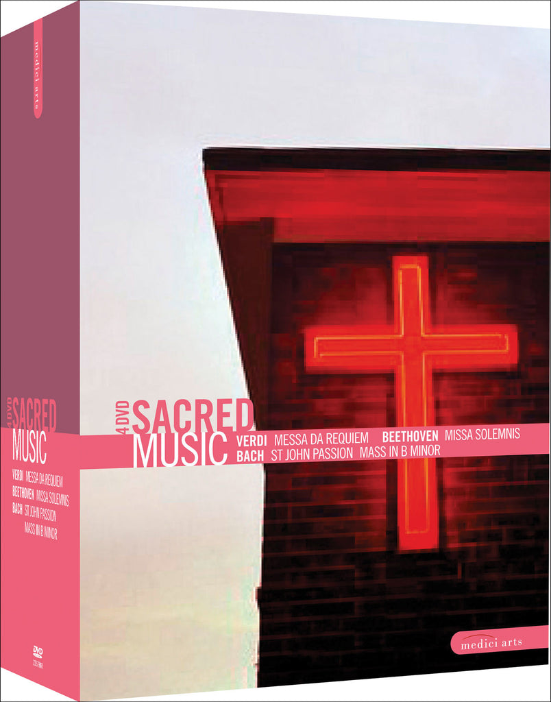 Sacred Music 4-DVD Collection