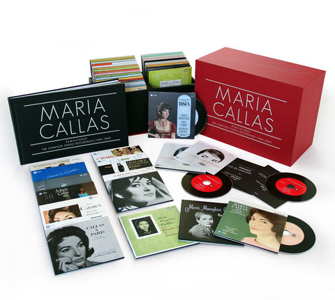 Callas: The Complete Studio Recordings 69-CD Box Set