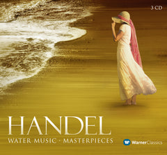 Handel: Water Music Masterpieces 3 CD set