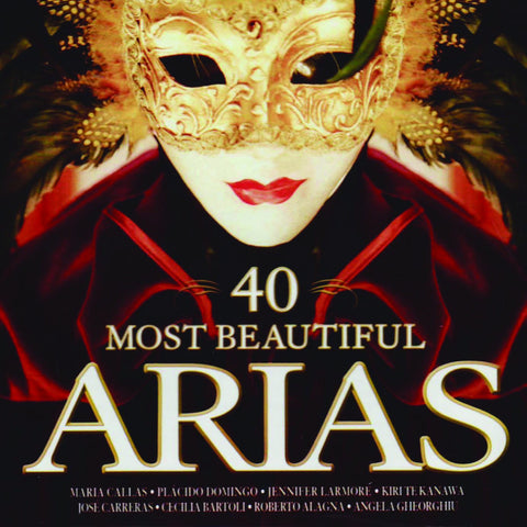 40 Most Beautiful Arias 2-CD Set