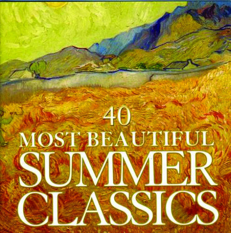 40 Most Beautiful Summer Classics 2-CD Set