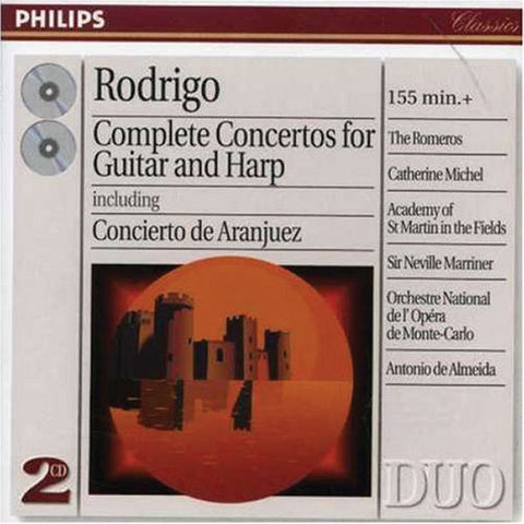 Rodrigo: Complete Concertos for Guitar and Harp 2-CD Set