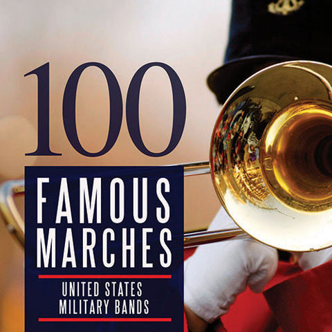 100 Famous Marches - 5 CD Set