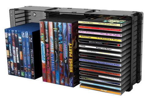 45-CD/21 DVD Stackable Holder