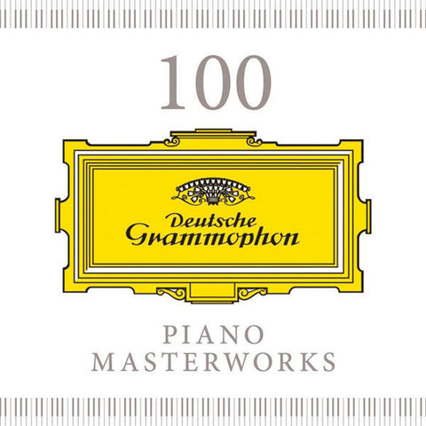 100 Piano Masterworks 5-CD Set
