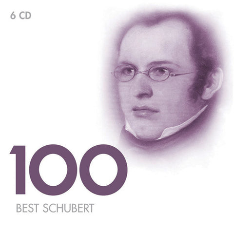 100 Best Schubert  6-CD SET