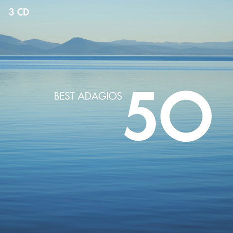 50 Best Adagios 3-CD Set