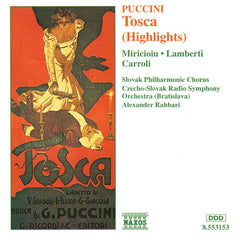 Puccini Highlights: Madama Butterfly, La Boheme, Tosca set/3