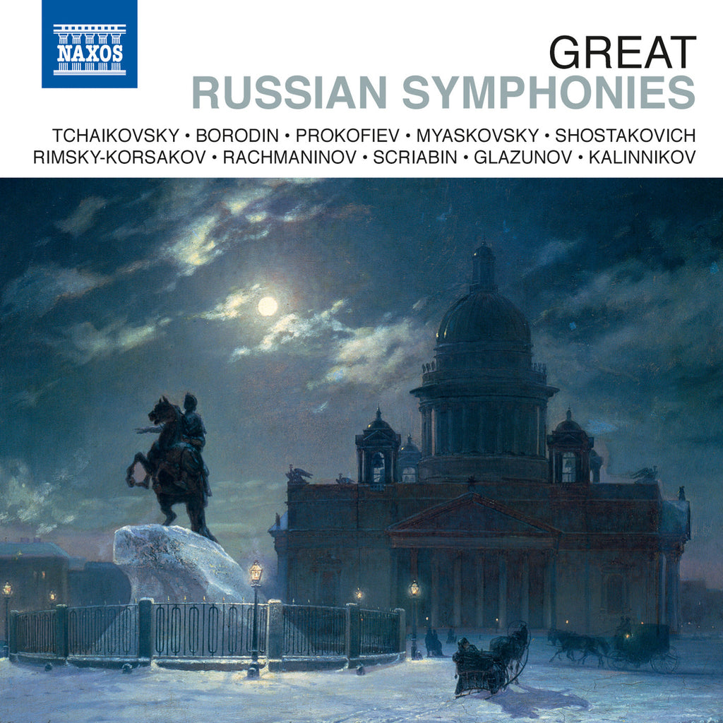 Great Russian Symphonies 10-CD Set