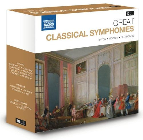 Great Classical Symphonies 10-CD Set