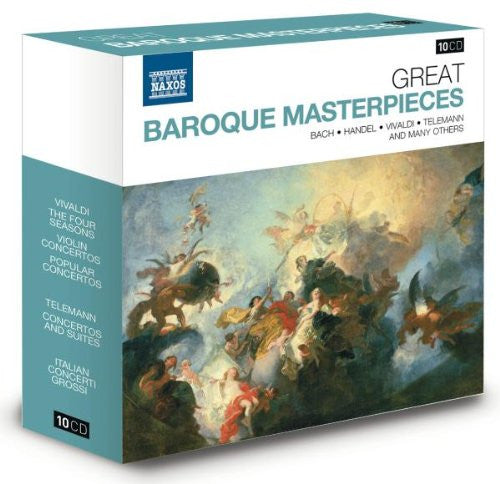Great Baroque Masterpieces 10-CD Set