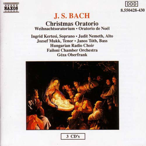Bach: Christmas Oratorios 3 CD set