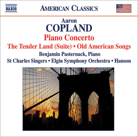 Aaron Copland: Piano Concerto/The Tender Land