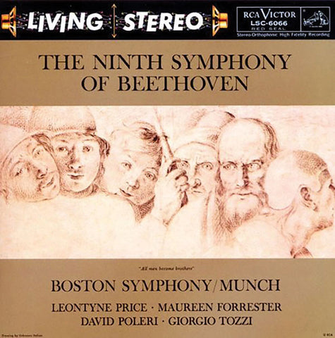 Beethoven: Symphony No. 9 (Munch)