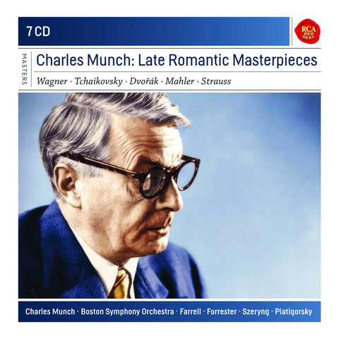 Charles Munch: Late Romantic Masterpieces 7-CD Set