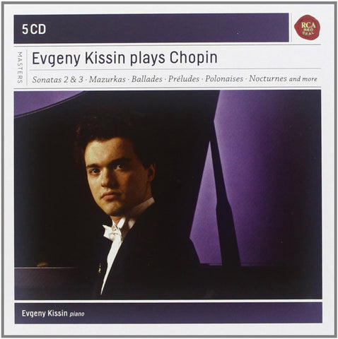 Evgeny Kissin plays Chopin 5-CD Set