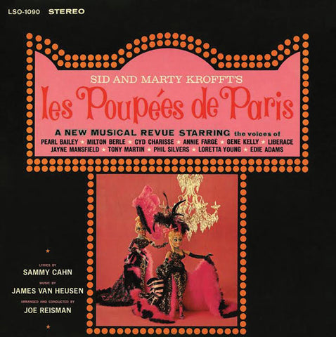 """Sid & Marty Kroft's Les Poupees"" 1964 Cast Recording Pearl Bailey"