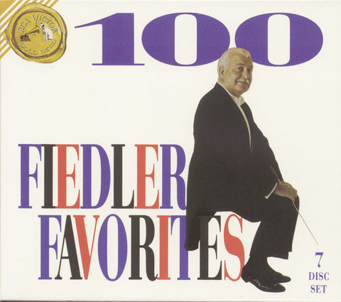 Arthur Fiedler: 100 Fiedler Favorites 7 CD Set