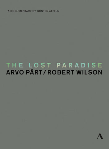 Arvo Pärt: The Lost Paradise DVD