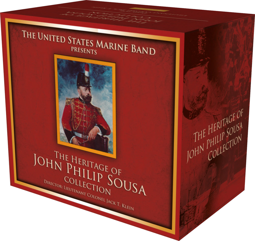 Heritage of John Philip Sousa The Robert Hoe Collection 18 CD set