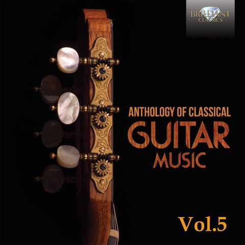 Anthology of Classical Guitar Music 40-CD Set