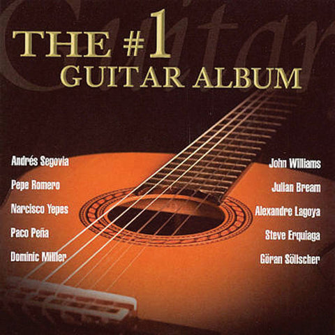 The #1 Guitar Album 2-CD Set