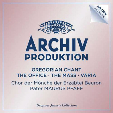Gregorian Chant: The Office/The Mass/Varia 4-CD Set