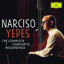 Yepes: Complete Concerto Recordings 5-CD Set