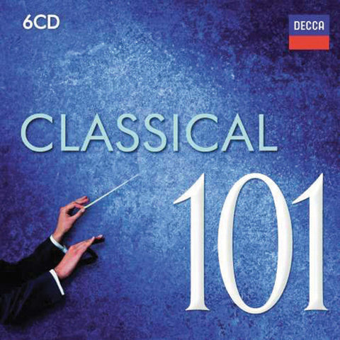 101 Classical 6-CD Set