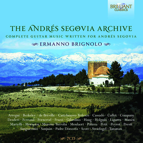 Andres Segovia Collection 7-CD Box Set