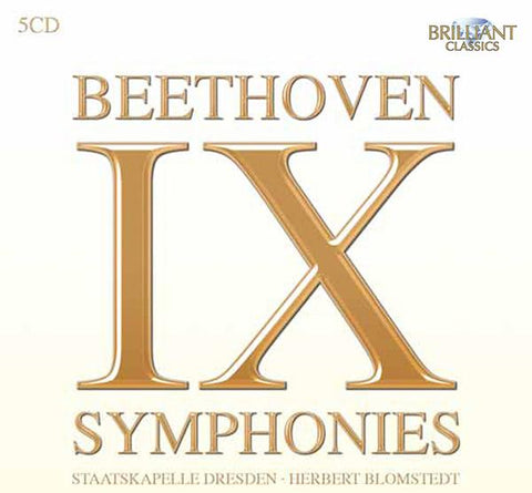 Beethoven: Complete Symphonies 5-CD Set