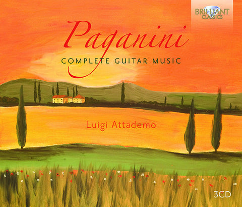 Paganini: Complete Guitar Music 3-CD Set