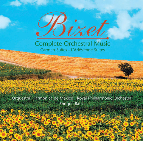 Bizet: Complete Orchestral Music 3-CD Box Set