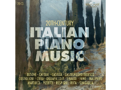 20th Century Italian Piano Music 20-CD Box Set
