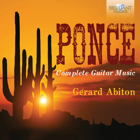 Ponce: Complete Guitar Music 4-CD Set