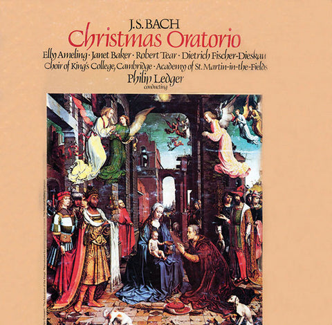 Bach: Christmas Oratorio 3-CD Set
