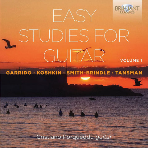 Easy Studies for Guitar, Volume 1 - 2-CD Set