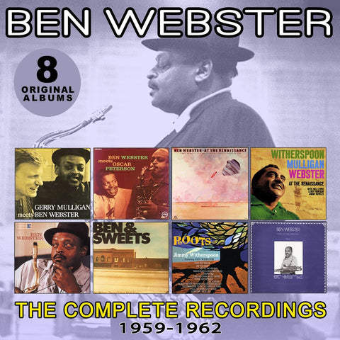 Ben Webster: 1952-1959 Complete Recordings 4-CD Set