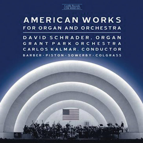 American Works for Organ & Orchestra