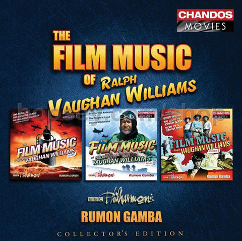 The Film Music of Ralph Vaughan Williams 3-CD Set